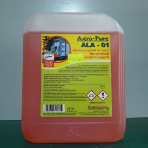 ALA - 01 Koncentrat Preparatu Do Mycia Aluminium 5l